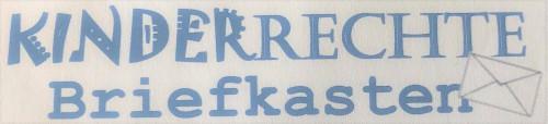 Kinderrechte Briefkasten Schriftzug