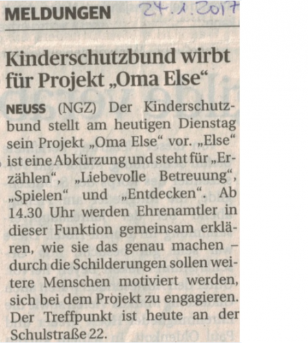 Projekt Oma ELSE
